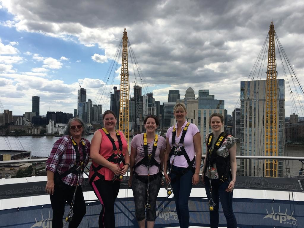 The o2 Challenge: women on top