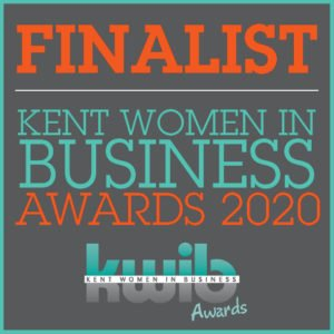 FINALIST KWIBA 2020 logo awarded to Bramley Business Solutions