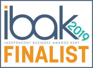 IBAK 2019 finalist logo, awarded to Bramley Business Solutions