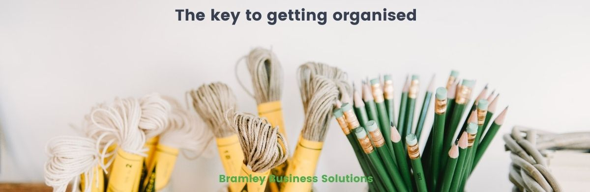 The Key To Getting Organised